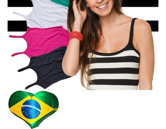 10 Body Adulto Feminino Manga Nadador Alcinha Pmg