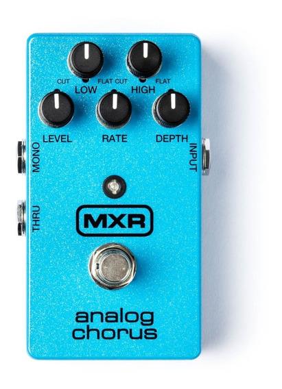 Dunlop Mxr M234 Analog Chorus C/ Nf-e & Garantia