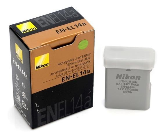 Bateria P/ Nikon En-el14a D3200 D3300 D5100 D5200 3100