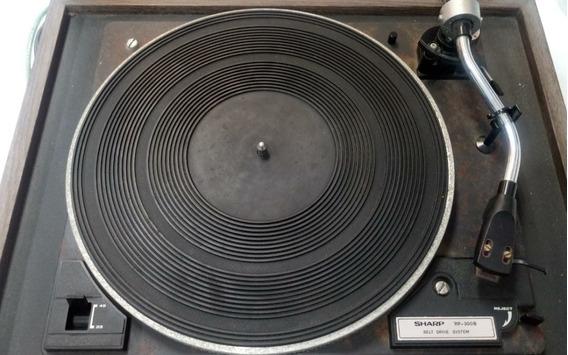 Toca Discos Sharp Rp-300b
