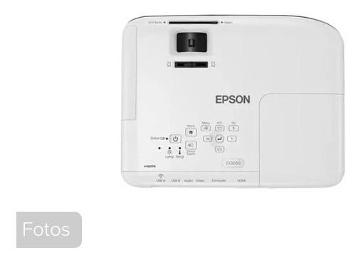 Projetor Epson Powerlite S41 + Hdmi 3300 Lumens - Subst