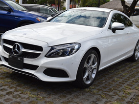 Mercedes Benz Clase C 200 2017 Coupe Blanco