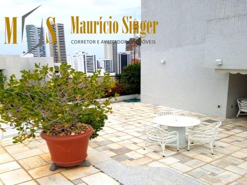 Apartamento Cobertura Duplex Para Venda Na Graça, Salvador-ba - Ap00282 - 34478652
