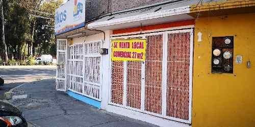 Local En Renta En Coyoacan En La Colonia Culhuacan, Local En Renta 27m2 De Superficie En Esquina.
