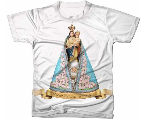 Camisa Camiseta Nossa Senhora Do Rocio Padoeira Do Paraná