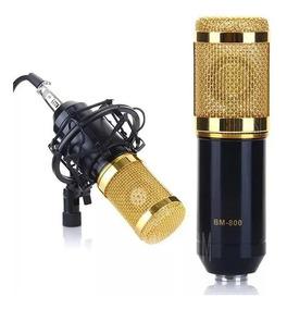 Microfone Condensador Podcast Studio Gravação Oferta