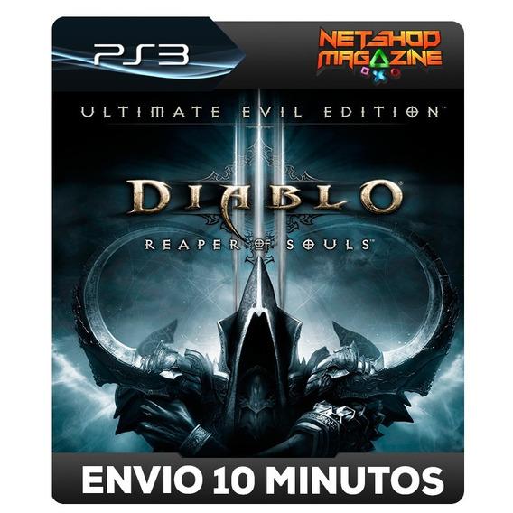 Diablo Iii: Reaper Of Souls - Ultimate Evil Editionpsn Ps3
