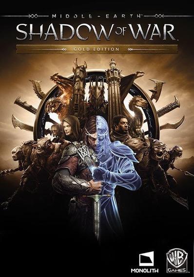Middle Earth Shadow Of War Gold Pc - Envio Rápiodo (steam)