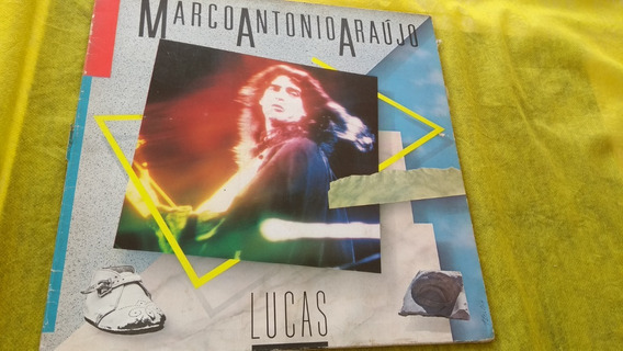 Marco Antonio Araújo Lucas Lp C/ Participação Nando Carneiro