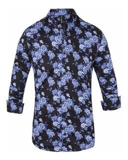 Camisas Mike B Elastizadas Slim Fit - Quality Import Usa