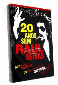 20 Anos Sem Raul Seixas - Cd + Dvd Rock