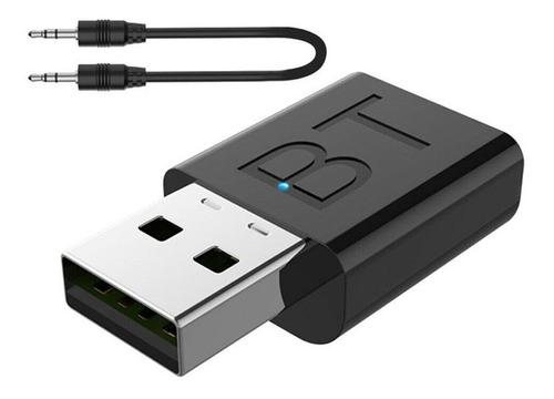 Imagen 1 de 5 de Transmisor Receptor Mini Usb Bluetooth 5.0 Pc Notebook