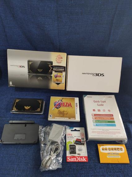 Nintendo 3ds Zelda 25th Anniversary Completo 32gb + Garantia