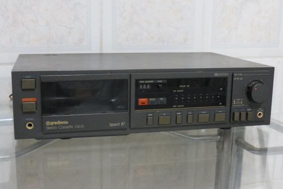Tape Deck Gradiente Spect 87 Stéreo Cassete Deck K7