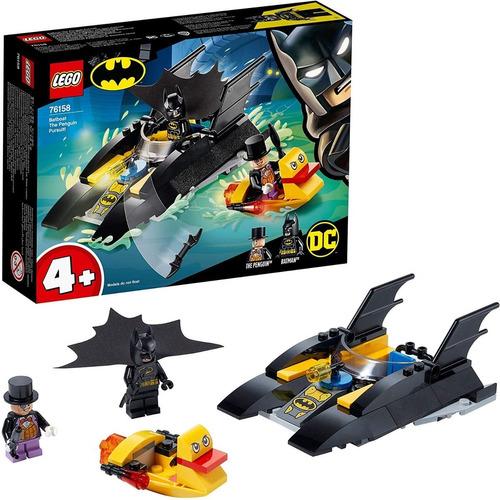 Lego Super Héroes 76158 Batboat + Batman + Pingüino 54pz