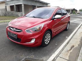 Hyundai Accent 1.4 Mpi Dohc Cvvt Rojo 2013
