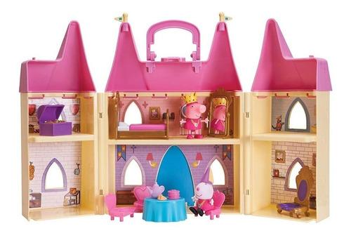 Peppa Pigs Juego Castillo De Lujo De  Princesa