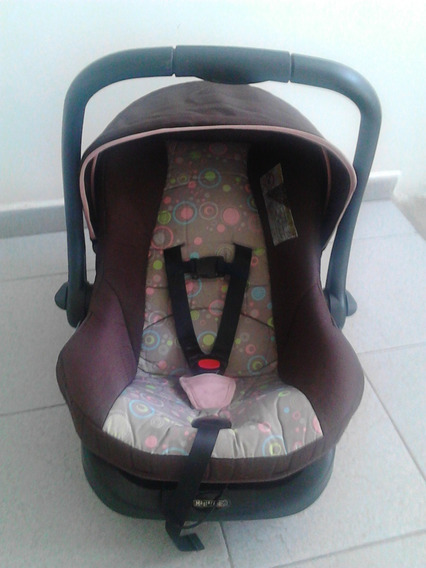 Porta Bebe, Con Base Para Carro Master Kids