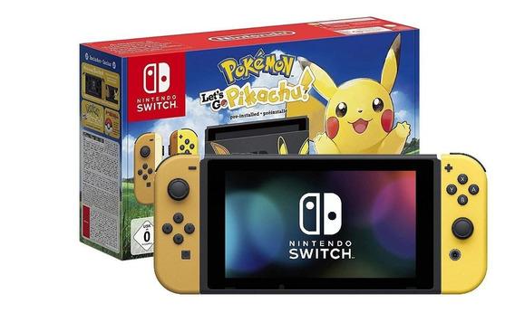 Nintendo Switch 32GB Pikachu & Eevee Edition with Pokémon: Let