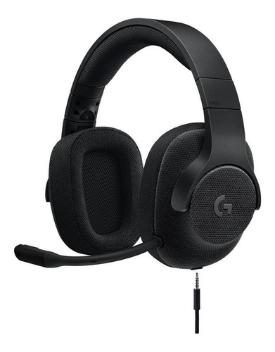Auriculares gamer Logitech G Series G433 black