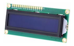 Display Tela Lcd 16x2 1602 Backlight Azul Arduino