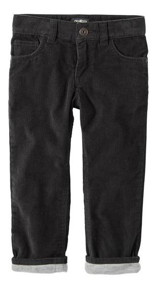 Pantalón Corderoy Carters Forrado En Algodón - Talle 4 Años