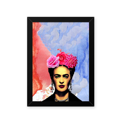 Quadro Frida Cores 33x43cm