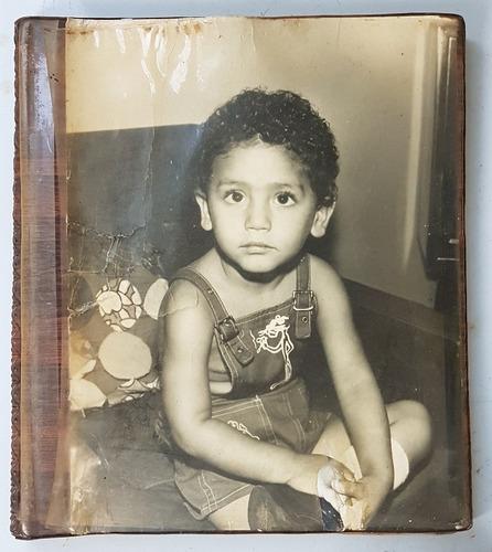Antigo Álbum Fotografias Grandes De Família