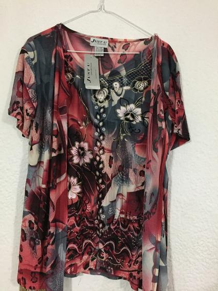 Blusa Franela Camisa Dama Talla Xl B225 (10)