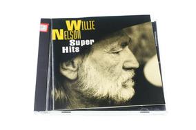 Cd Willie Nelson Super Hits 10 Musicas Importado Usa Country