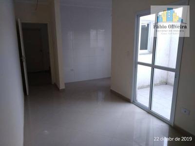 Cobertura Com 2 Dormitórios À Venda, 42 M² Por R$ 235.000 - Jardim Santo André - Santo André/sp - Co0089
