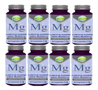 Cloreto De Magnésio 1200mg 8x 60 Comprimidos Máximo 2 Ao Dia