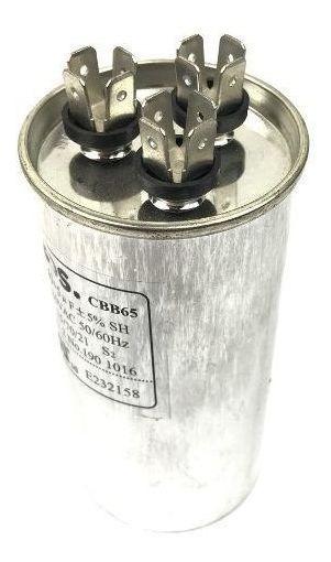 Capacitor Permanente 35 + 4,0 Uf 380v Duplo