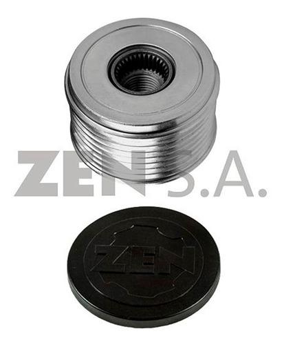 Imagen 1 de 8 de Polea Alternador Ford Bosch Libre 7pk 17mm