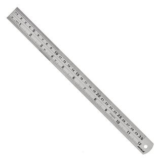 Escala De Aço Inox 600mm/24 600.006 Kingtools