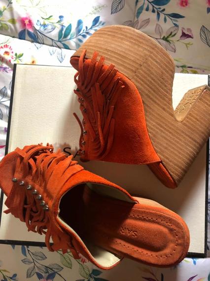 Zapatos Sarkany Plataformas Paruolo Sofia De Grecia