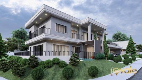 Imagem 1 de 30 de Linda Casa Em Um Projeto Diferenciado Com 4 Dormitórios À Venda, 320 M² Por R$ 1.600.000 - Recanto Dos Eucaliptos - São José Dos Campos/sp - Ca2031