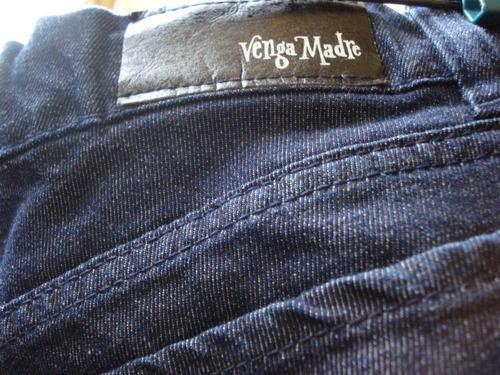 Pantalon De Jean Venga Madre P/ Embarazada Talle 1 Impecable