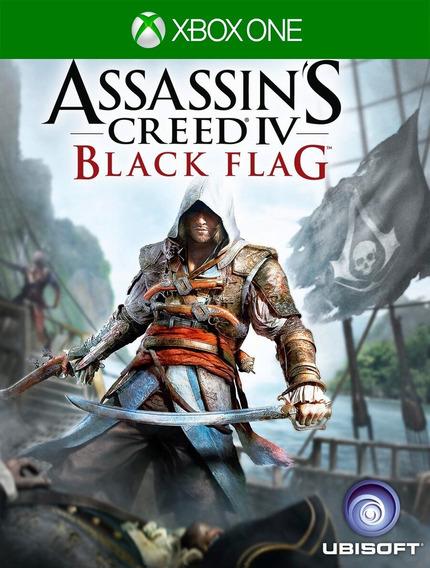 Assassins Creed Iv Black Flag Xbox One - 25 Díg Envio Rapido
