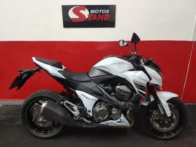 Kawasaki Z 800 Z800 Abs 2016 Branca Branco