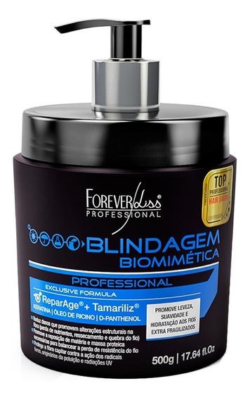 Forever Liss Mascara Blindagem Biomimética C Keratina 500g