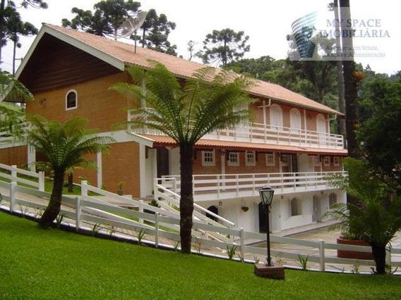 Casa Residencial À Venda, Morro Do Elefante, Campos Do Jordão. - Ca0018