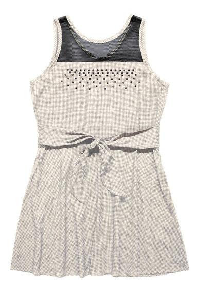 Vestido Infantil Gloss
