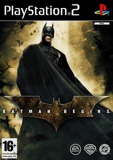 Batman Begins - Ps2 - Frete R$ 17