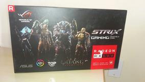 Placa De Video Asus Radeon Rx 580 8gb Rog-strix T8g-gaming