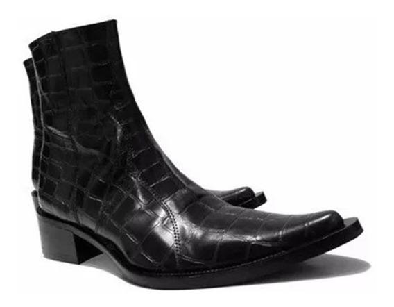 Botas Botinetas Texan Cowboy Boots Talle 45 Hombre Italy