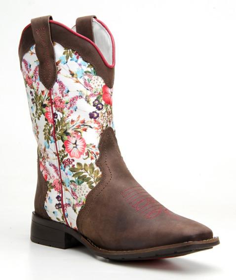 Bota Feminina Country Texana Montaria Western Capelli Boots