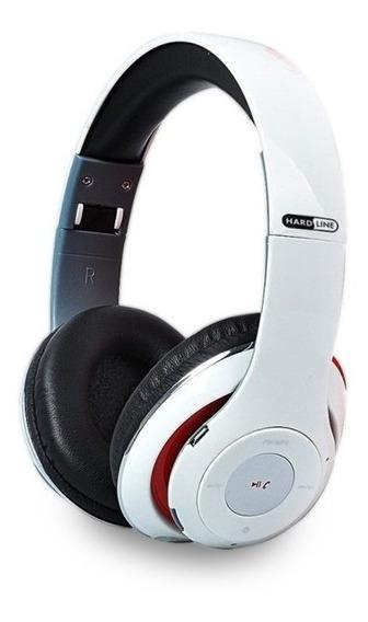 Fone De Ouvido Bluetooth Tm010 Hardline Branco Fm + Ent.sd