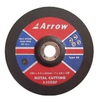Disco De Corte Metal  Arrow  - A30rbf