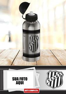Garrafa Squeeze Time De Futebol Ceará Peça A Sua